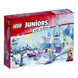 LEGO - JUNIORS - PLAZ ZABAW ANNY I ELSY Z KRAINY LODU - 10736