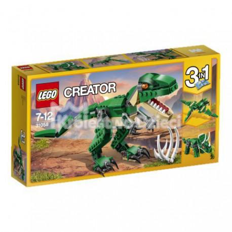 LEGO - CREATOR - POTĘŻNE DINOZAURY - 31058