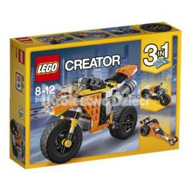 LEGO - CREATOR - MOTOCYKL Z BULWARU ZACHODZĄCEGO SŁOŃCA - 31059