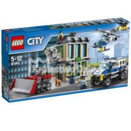 LEGO - CITY - WŁAMANIE BULDOŻEREM - 60140