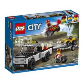 LEGO® - CITY - WYŚCIGOWY ZESPÓŁ QUADOWY - 60148
