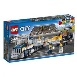 LEGO® - CITY - TRANSPORTER DRAGSTERÓW - 60151