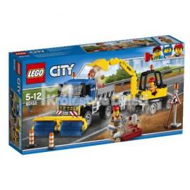 LEGO - CITY - ZAMIATACZ ULIC I KOPARKA - 60152