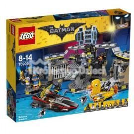 LEGO - THE BATMAN MOVIE - WŁAMANIE DO JASKINI BATMANA - 70909