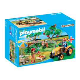 PLAYMOBIL - COUNTRY - ZESTAW STARTOWY - OWOCOBRANIE - 6870