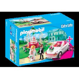 PLAYMOBIL - CITY LIFE - ZESTAW STARTOWY - WESELE - 6871