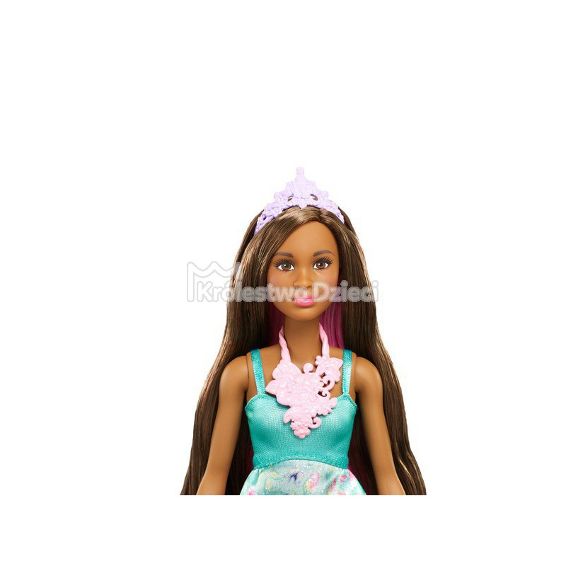 Mattel Barbie Dreamtopia Księżniczka Kolorowe Fryzury