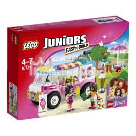 LEGO® - JUNIORS - FURGONETKA Z LODAMI EMMY - 10727