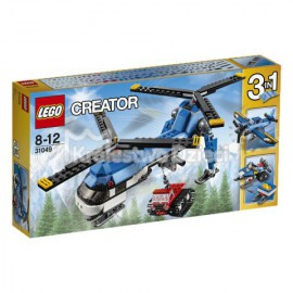 LEGO® - CREATOR - HELIKOPTER Z DWOMA WIRNIKAMI - 31049