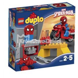 LEGO® - DUPLO® - MOTOCYKLOWY WARSZTAT SPIDER-MANA - 10607