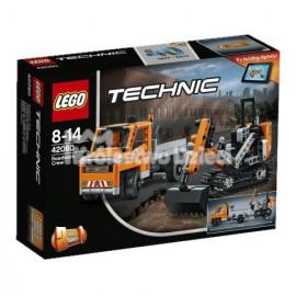 LEGO - TECHNIC - EKIPA ROBÓT DROGOWYCH - 42060