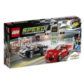 LEGO - SPEED CHAMPIONS - CHEVROLET CAMARO DRAG RACE - 75874