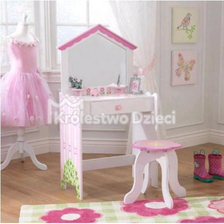 Kidkraft Toaletka W Kształcie Domku Dla Lalek Krzesełko 13035