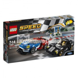 LEGO - SPEED CHAMPIONS - FORD GT 2016R. I FORD GT40 1966R. - 75881