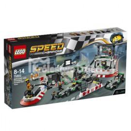 LEGO - SPEED CHAMPIONS - ZESPÓŁ FORMUŁY 1 MERCEDES AMG PETRONAS - 75883