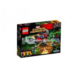 LEGO - SUPER HEROES - CONFIDENTIAL GUARDIANS OF THE GALAXY 1 - ATAK NISZCZYCIELA - 76079