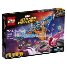 LEGO - SUPER HEROES - GUARDIANS OF THE GALAXY 3 - MILANO KONTRA ABILISK - 76081