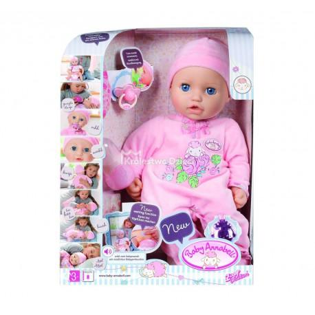 Baby Annabell Lalka Interaktywna Bobas Dziewczynka