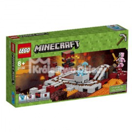 LEGO - MINECRAFT - LINIA KOLEJOWA W NETHERZE - 21130