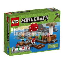 LEGO - MINECRAFT - GRZYBOWA WYSPA - 21129
