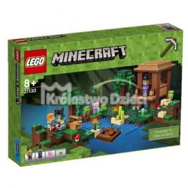 LEGO - MINECRAFT - CHATKA CZAROWNICY - 21133