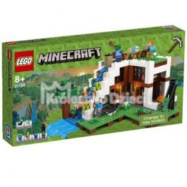 LEGO - MINECRAFT - BAZA POD WODOSPADEM - 21134