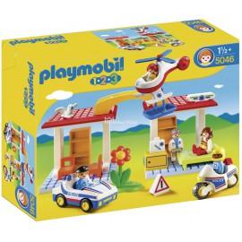 PLAYMOBIL - 123 - POLICJA I POGOTOWIE RATUNKOWE - 5046