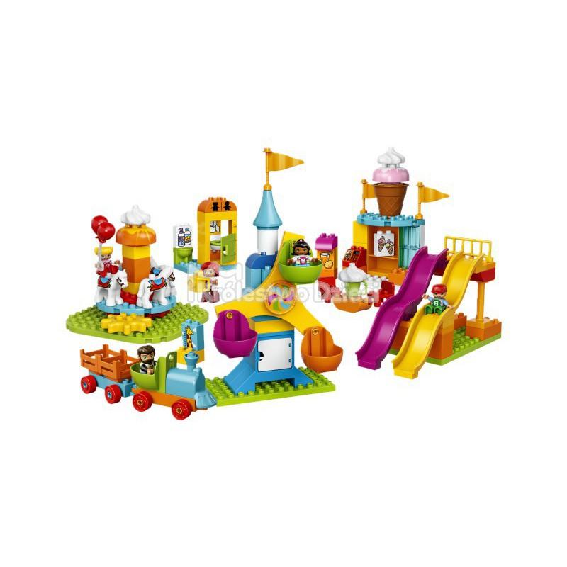 Lego Duplo Duże Wesołe Miasteczko 10840 Królestwo Dzieci