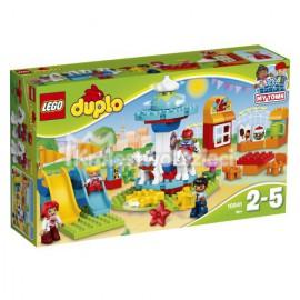 LEGO - DUPLO - DUŻE WESOŁE MIASTECZKO - 10840