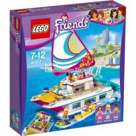 LEGO - FRIENDS - TRANSPORTER MOTORÓWEK ANDREI - 41316