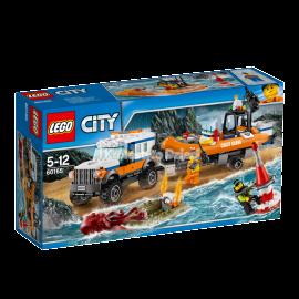 LEGO® - CITY - TERENÓWKA SZYBKIEGO REAGOWANIA - 60165