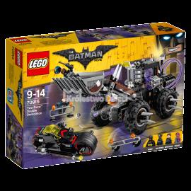 LEGO - THE BATMAN MOVIE - BANE ATAK TOKSYCZNĄ CIĘŻARÓWKĄ - 70914