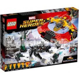 LEGO - SUPER HEROES - UWAGA NA SĘPA - 76083