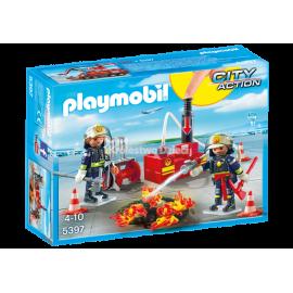 PLAYMOBIL - CITY ACTION - LOTNISKO Z WIEŻĄ KONTROLNĄ - 5338