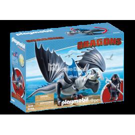 PLAYMOBIL - DRAGONS - DRAGO I UZBROJONY SMOK - 9248