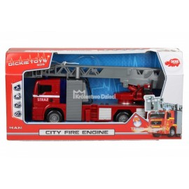 DICKIE - S.O.S - STRAŻ POŻARNA - CITY FIRE ENGINE - 4144