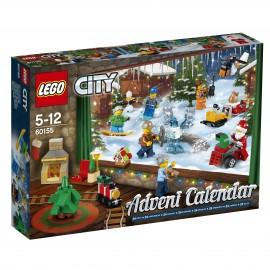 LEGO - CITY - KALENDARZ ADWENTOWY 2017 - 60155