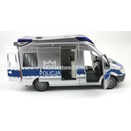 DICKIE - SAMOCHÓD SOS - POLICJA - VAN RATUNKOWY - ŚWIATŁO DŹWIĘK - 45189