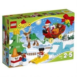 LEGO® - DUPLO® - ZIMOWE FERIE ŚWIĘTEGO MIKOŁAJA - 10837