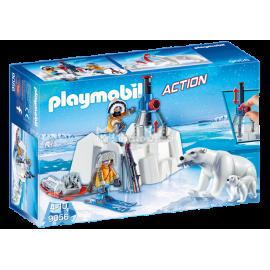PLAYMOBIL - ACTION - STRAŻNICY POLARNI Z NIEDŹWIEDZIAMI POLARNYMI - 9056