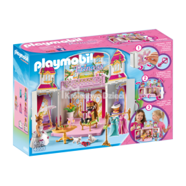 PLAYMOBIL - PRINCESS - PLAY BOX - ZAMEK KRÓLEWSKI - 4898