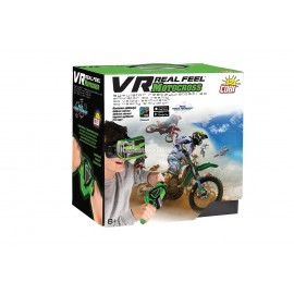 COBI - VR REAL FEEL MOTOCROSS - SYMULATOR JAZDY 3D MOTOR - KIEROWNICA + GOGLE - 66340