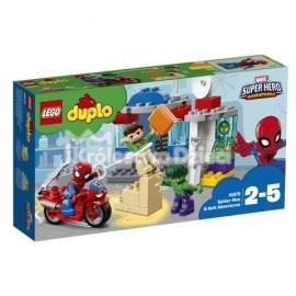 LEGO® - DUPLO® - PRZYGODY SPIDER-MANA I HULKA - 10876
