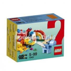 LEGO® - BUILDING BIGGER THINKING - TĘCZOWA ZABAWA - 10401