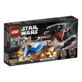 LEGO® - STAR WARS™ - A-WING KONTRA TIE SILENCER - 75196