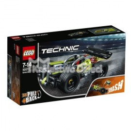 LEGO® - TECHNIC - ZIELONA WYŚCIGÓWKA - 42072