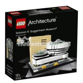 LEGO® - ARCHITECTURE - MUZEUM SOLOMONA R. GUGGENHEIMA - 21035