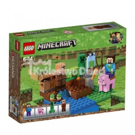 LEGO® - MINECRAFT™ - FARMA ARBUZÓW - 21138