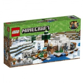 LEGO® - MINECRAFT™ - IGLOO NIEDŹWIEDZIA POLARNEGO - 21142