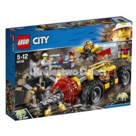 LEGO® - CITY - CIĘŻKIE WIERTŁO GÓRNICZE - 60186